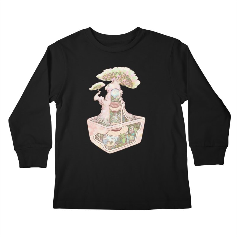 taste of slow Kids Longsleeve T-Shirt by makapa's Artist Shop