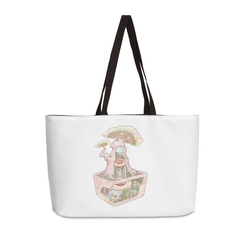 taste of slow Accessories Weekender Bag Bag by makapa's Artist Shop