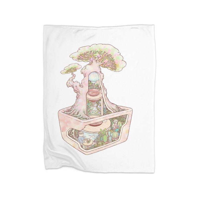 taste of slow Home Fleece Blanket Blanket by makapa's Artist Shop