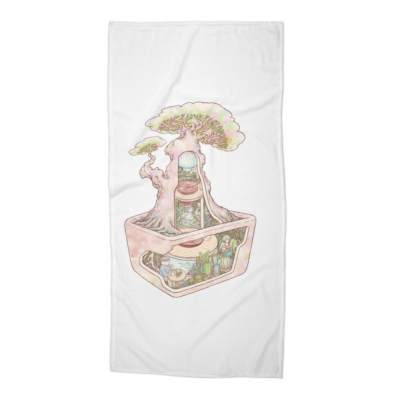 taste of slow Accessories Beach Towel by makapa's Artist Shop