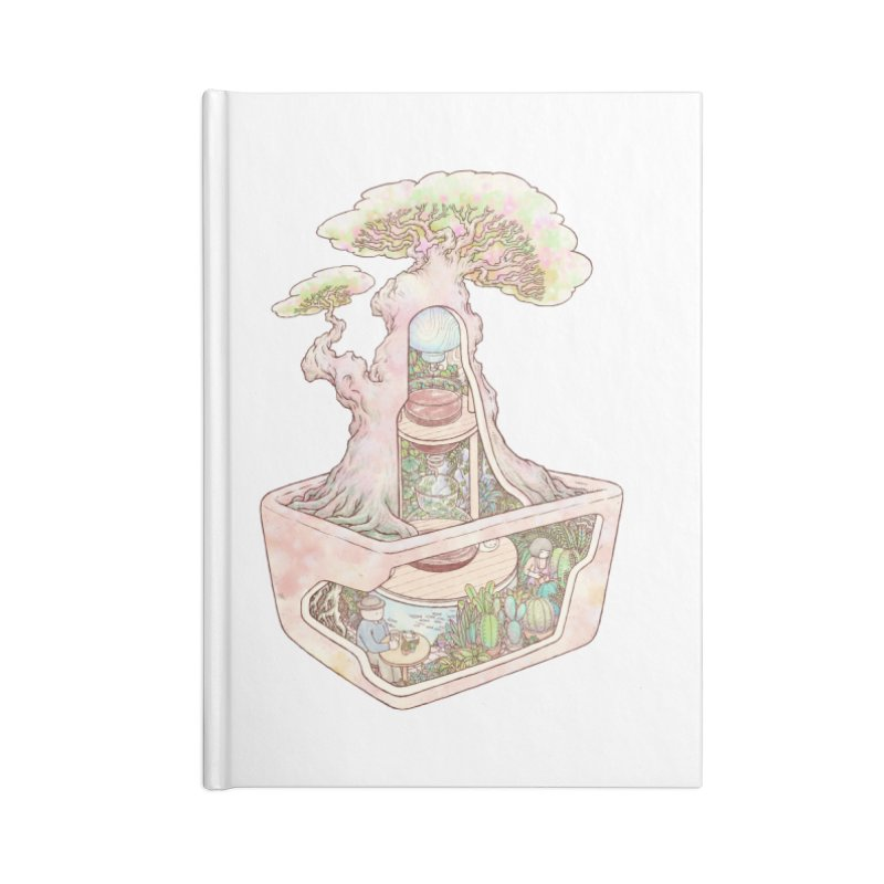 taste of slow Accessories Lined Journal Notebook by makapa's Artist Shop