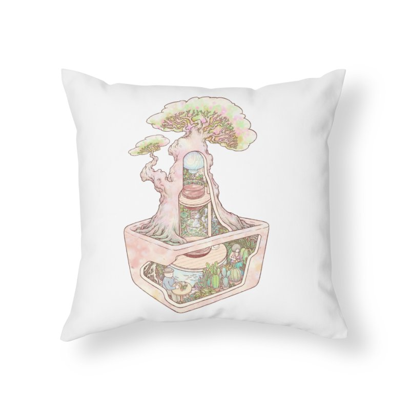 taste of slow Home Throw Pillow by makapa's Artist Shop