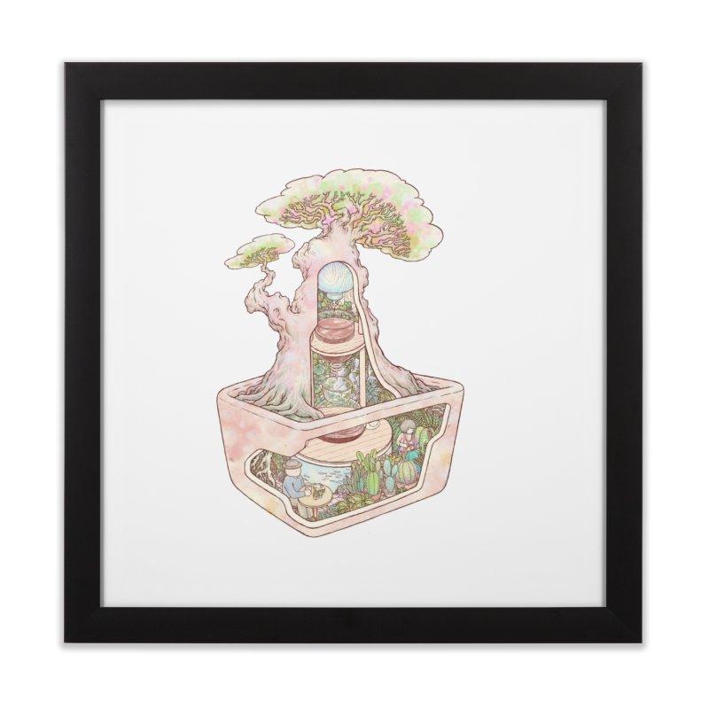 taste of slow Home Framed Fine Art Print by makapa's Artist Shop