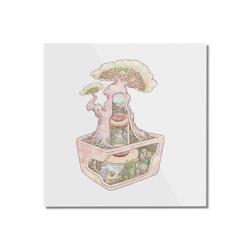 taste of slow Home Mounted Acrylic Print by makapa's Artist Shop