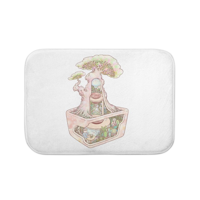 taste of slow Home Bath Mat by makapa's Artist Shop
