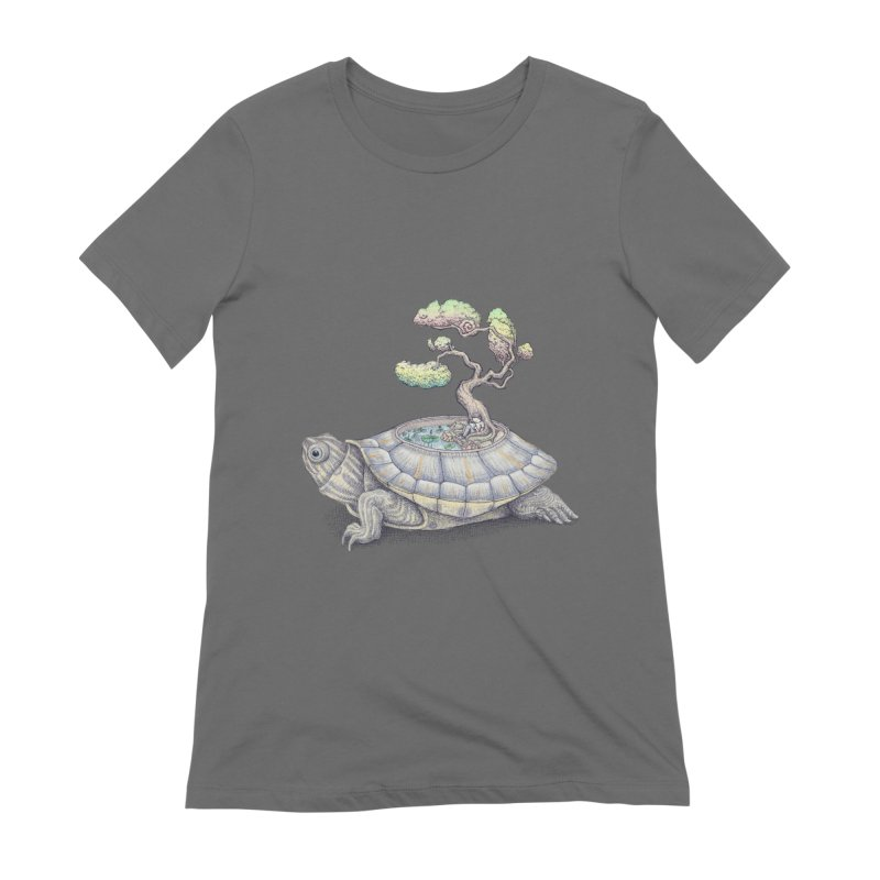 imagine time Women's T-Shirt by makapa's Artist Shop