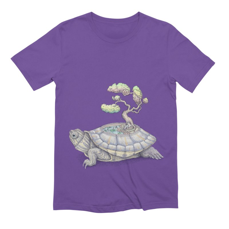 imagine time Men's Extra Soft T-Shirt by makapa's Artist Shop