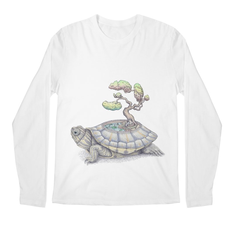 imagine time Men's Longsleeve T-Shirt by makapa's Artist Shop