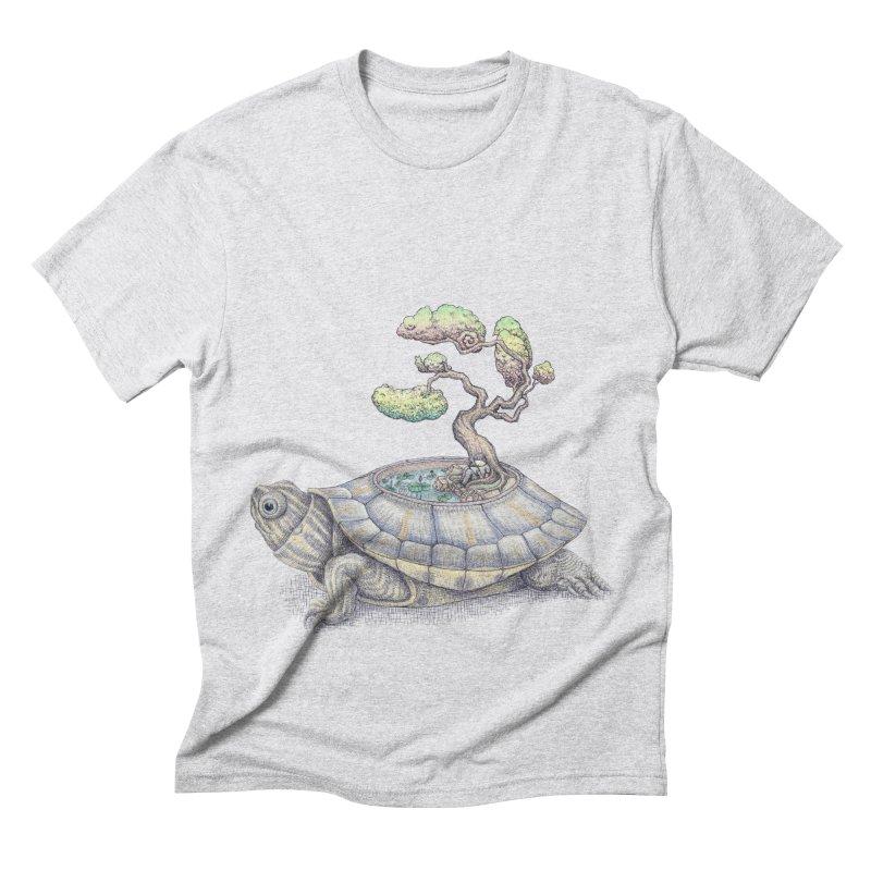 imagine time Men's Triblend T-shirt by makapa's Artist Shop