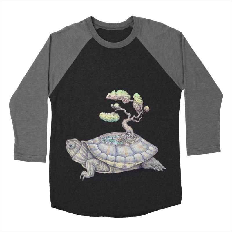 imagine time Women's Baseball Triblend T-Shirt by makapa's Artist Shop