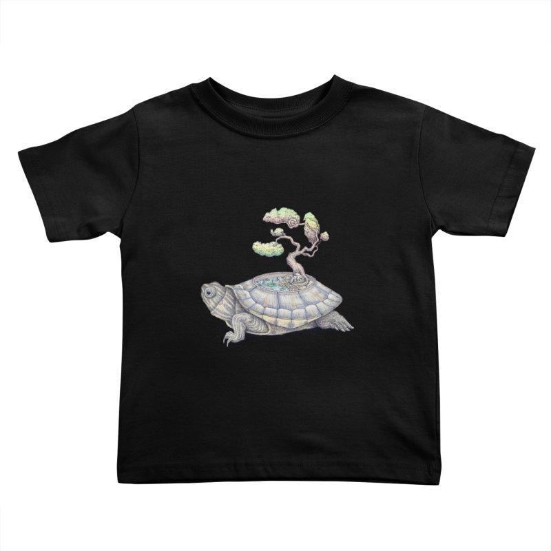 imagine time Kids Toddler T-Shirt by makapa's Artist Shop