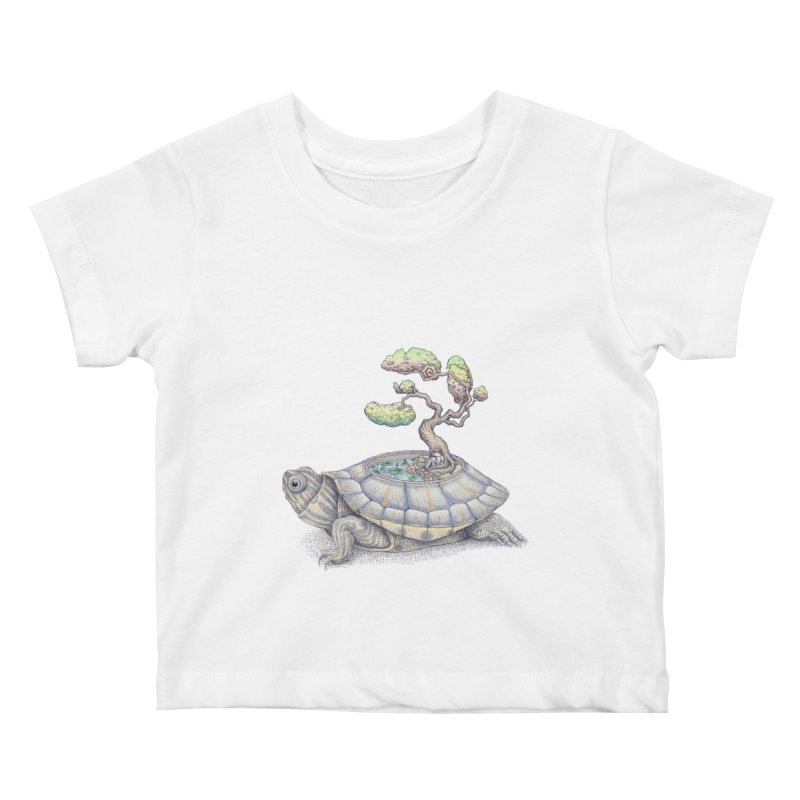 imagine time Kids Baby T-Shirt by makapa's Artist Shop