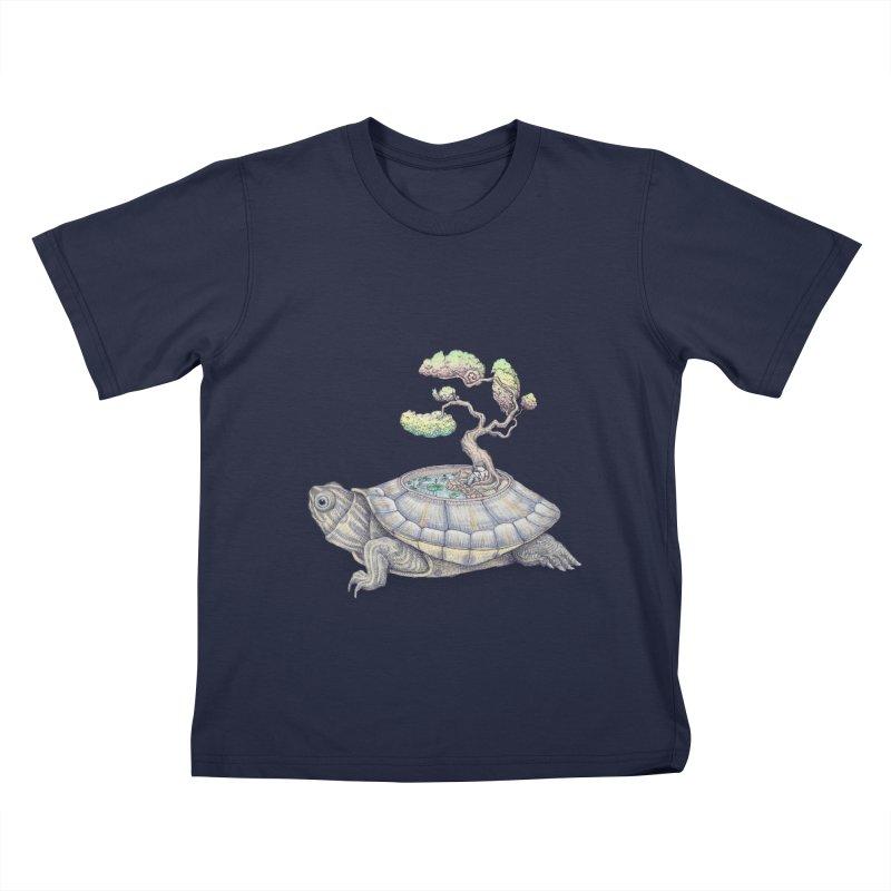 imagine time Kids T-shirt by makapa's Artist Shop