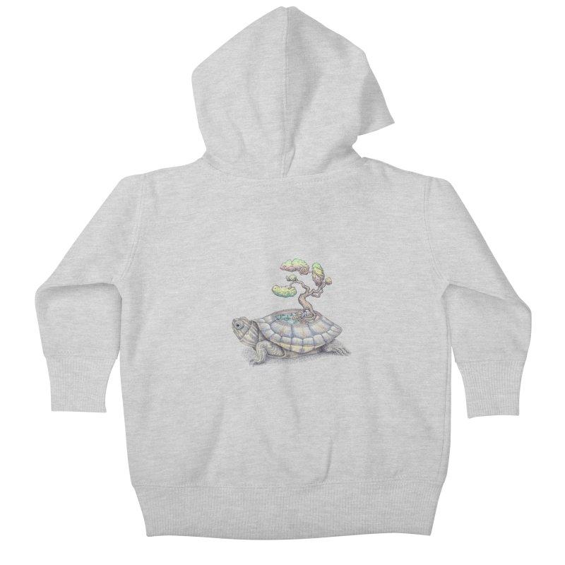 imagine time Kids Baby Zip-Up Hoody by makapa's Artist Shop