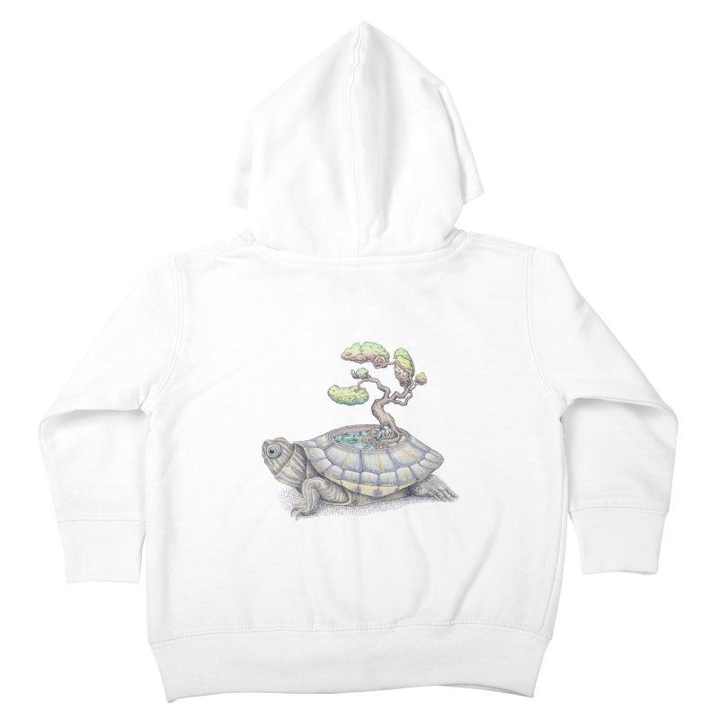 imagine time Kids Toddler Zip-Up Hoody by makapa's Artist Shop