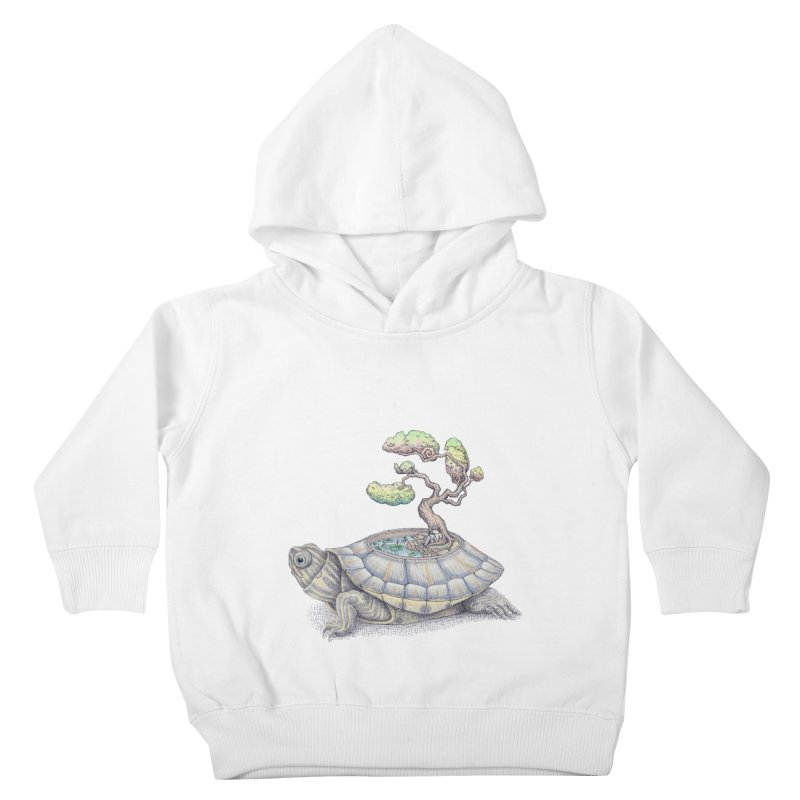 imagine time Kids Toddler Pullover Hoody by makapa's Artist Shop