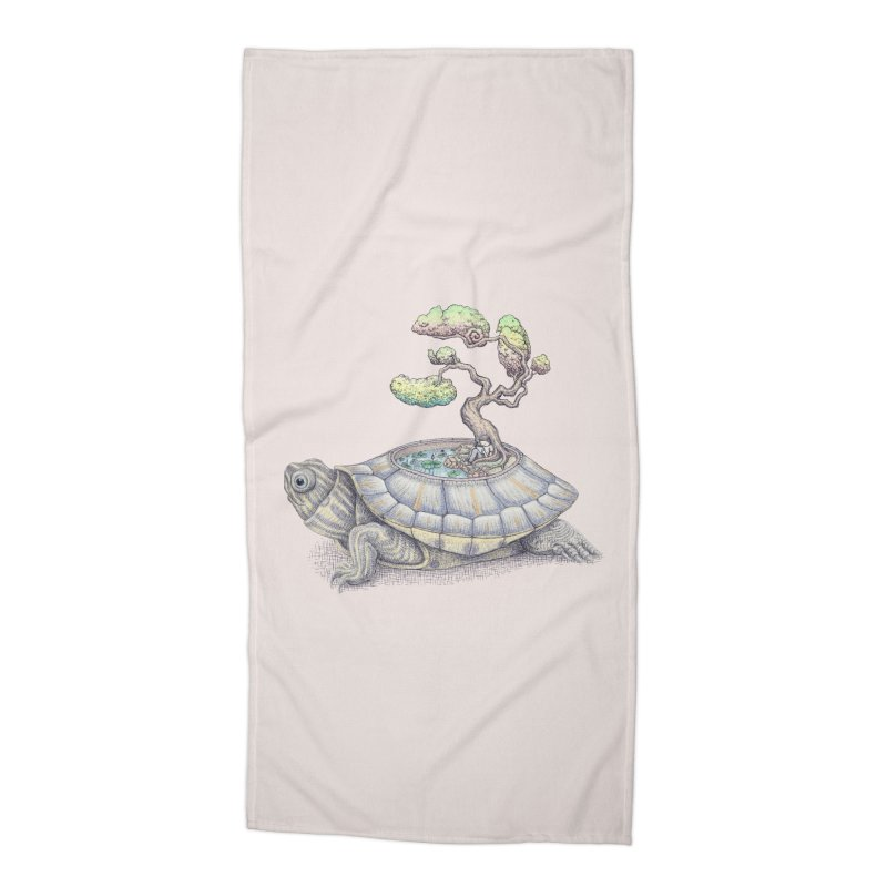 imagine time Accessories Beach Towel by makapa's Artist Shop