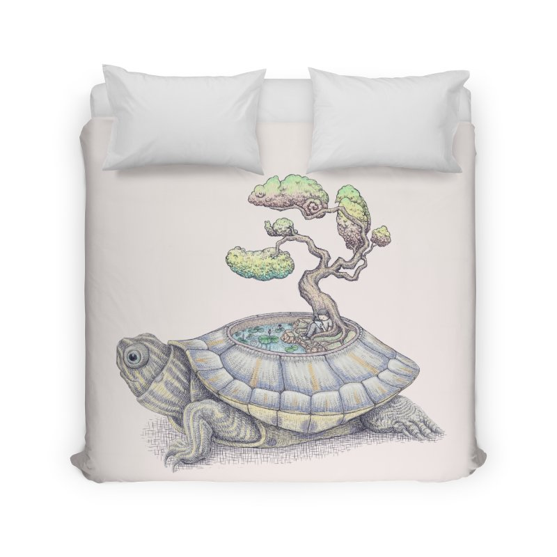 imagine time Home Duvet by makapa's Artist Shop