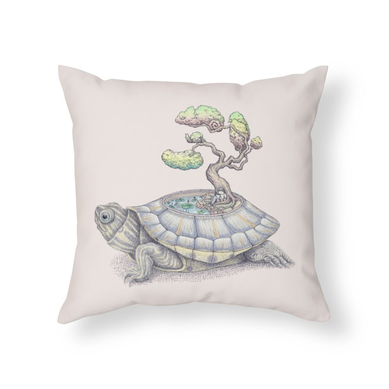 imagine time Home Throw Pillow by makapa's Artist Shop