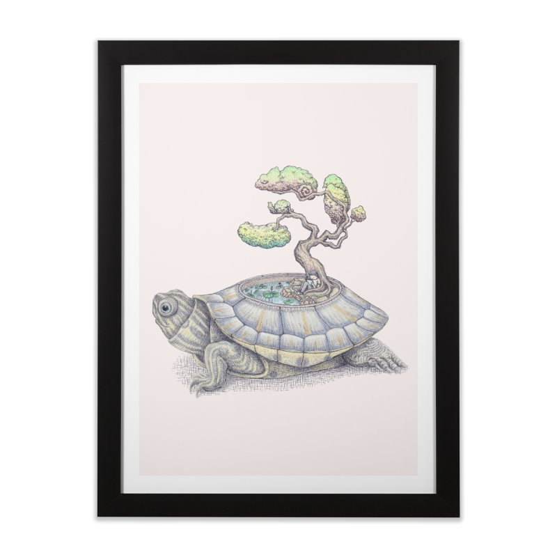 imagine time Home Framed Fine Art Print by makapa's Artist Shop