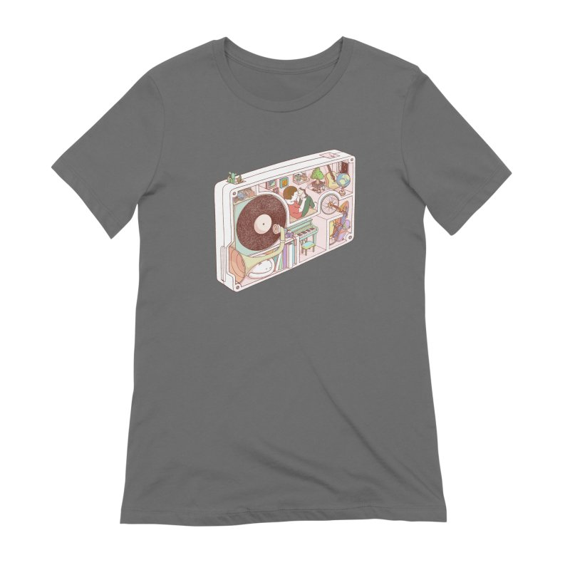 inside analog Women's T-Shirt by makapa's Artist Shop