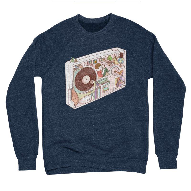inside analog Women's Sponge Fleece Sweatshirt by makapa's Artist Shop