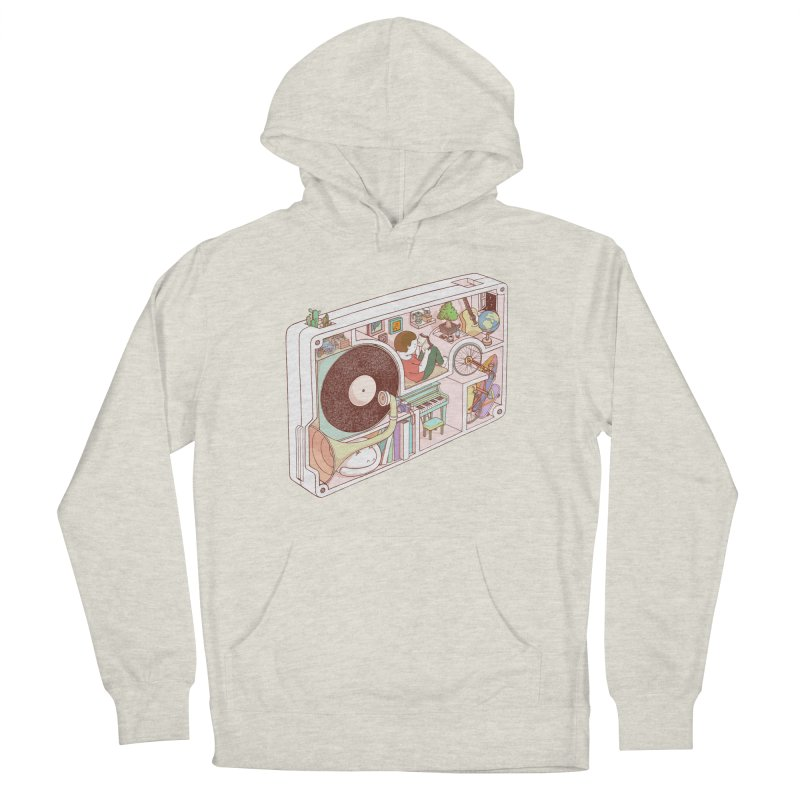inside analog Women's French Terry Pullover Hoody by makapa's Artist Shop