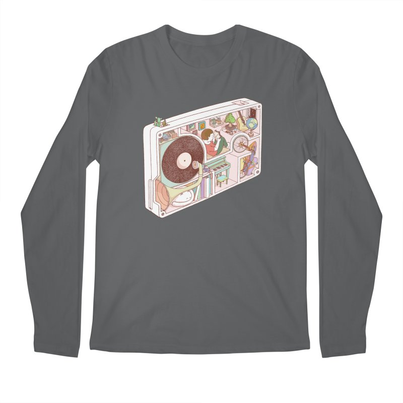 inside analog Men's Longsleeve T-Shirt by makapa's Artist Shop