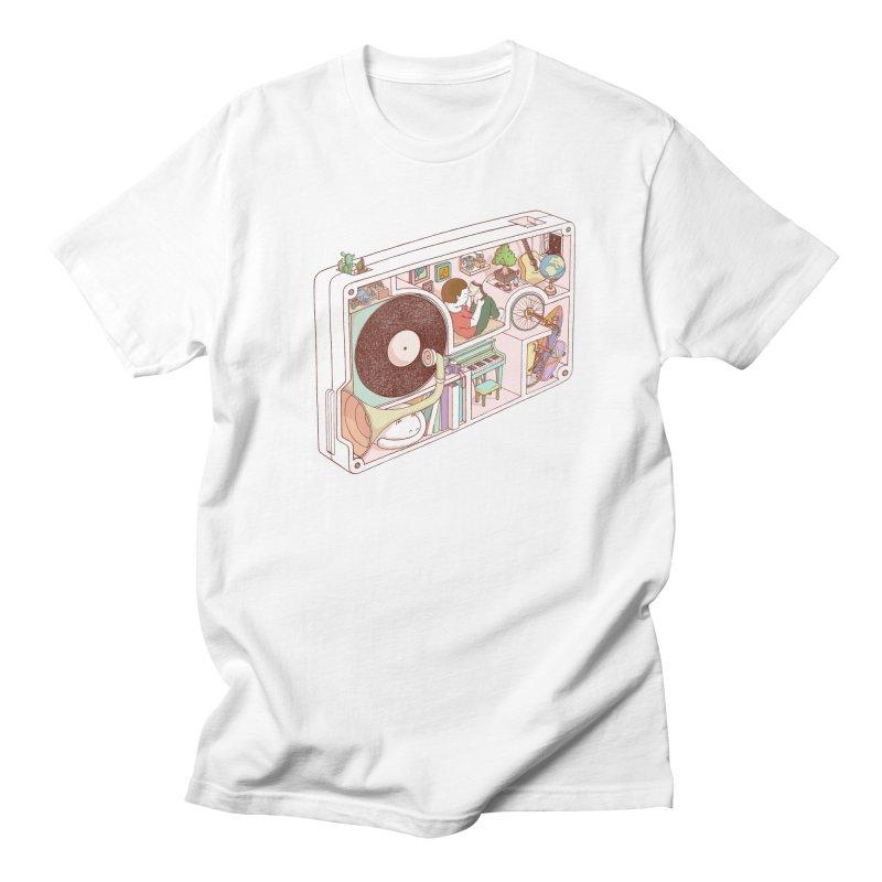 inside analog Men's Regular T-Shirt by makapa's Artist Shop