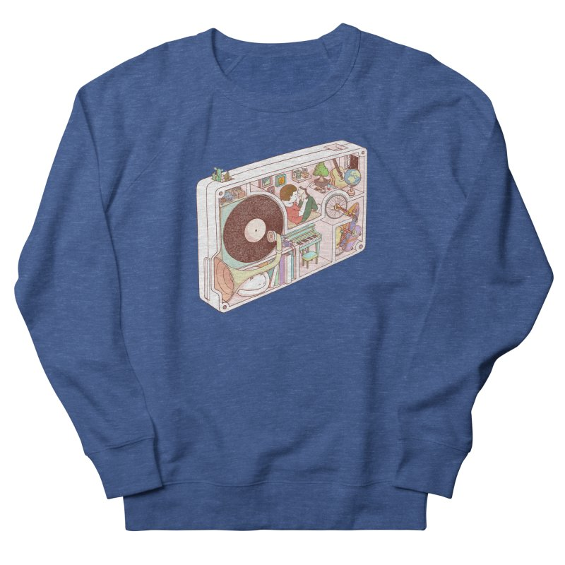 inside analog Women's French Terry Sweatshirt by makapa's Artist Shop