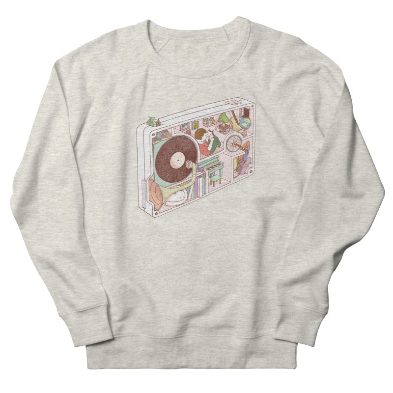 inside analog Women's French Terry Sweatshirt by makapa's Artist Shop