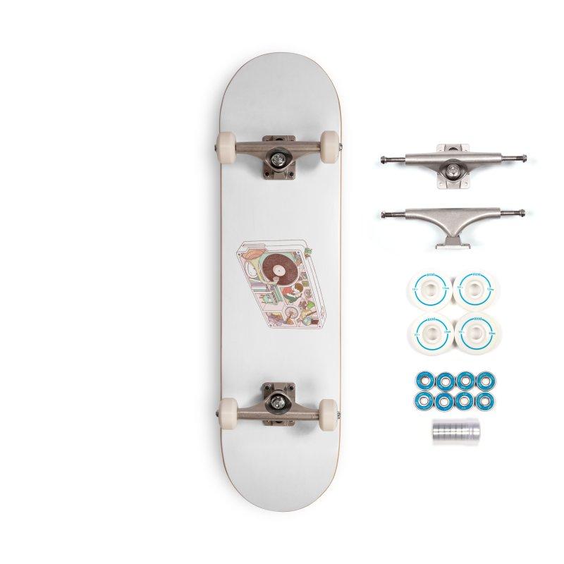 inside analog Accessories Complete - Basic Skateboard by makapa's Artist Shop