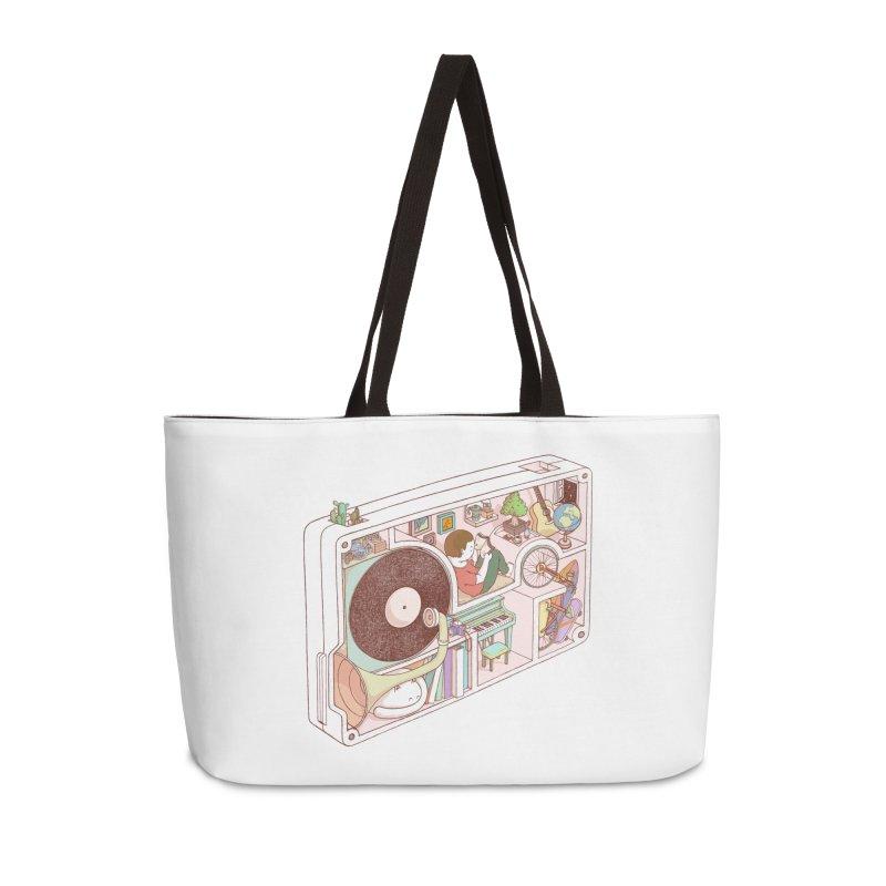 inside analog Accessories Bag by makapa's Artist Shop