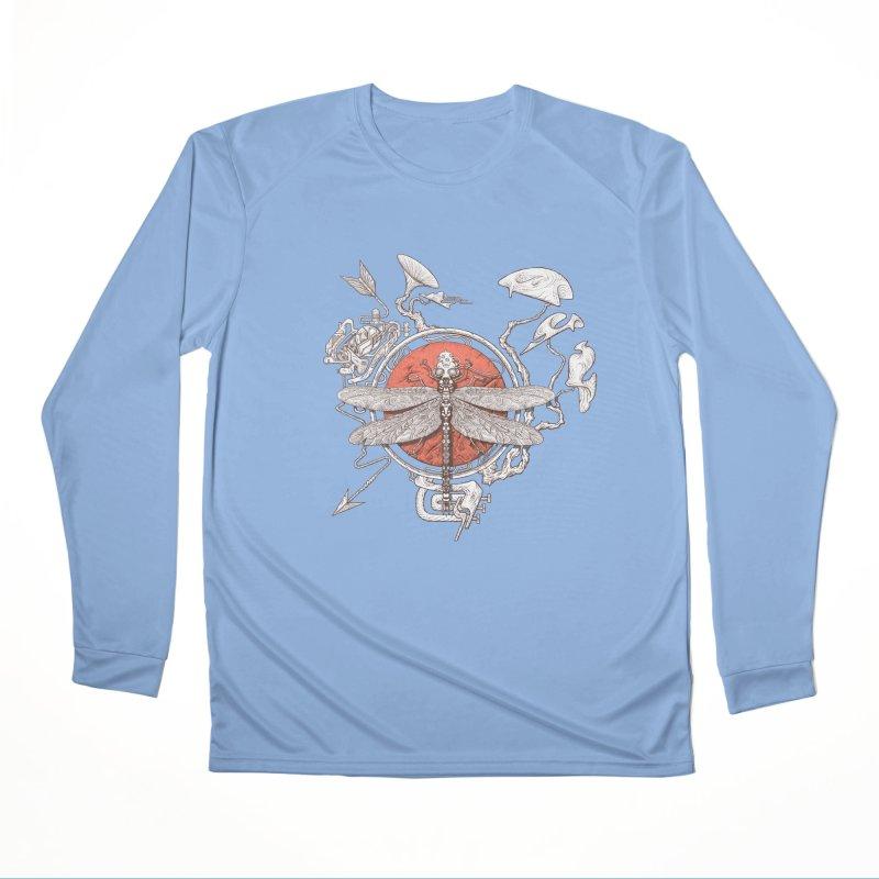 dragonfly dream Men's Longsleeve T-Shirt by makapa's Artist Shop