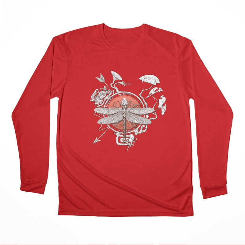 dragonfly dream Men's Performance Longsleeve T-Shirt by makapa's Artist Shop