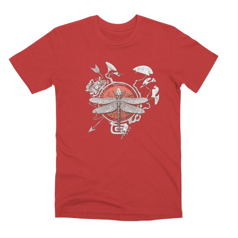 dragonfly dream Men's Premium T-Shirt by makapa's Artist Shop