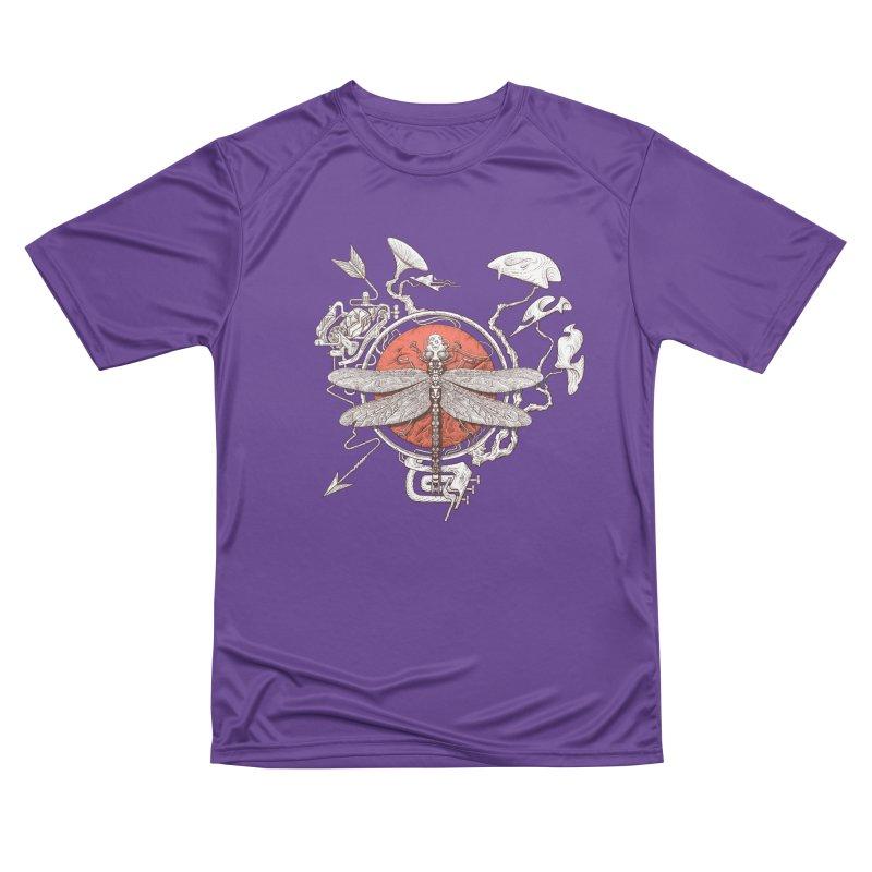 dragonfly dream Women's Performance Unisex T-Shirt by makapa's Artist Shop