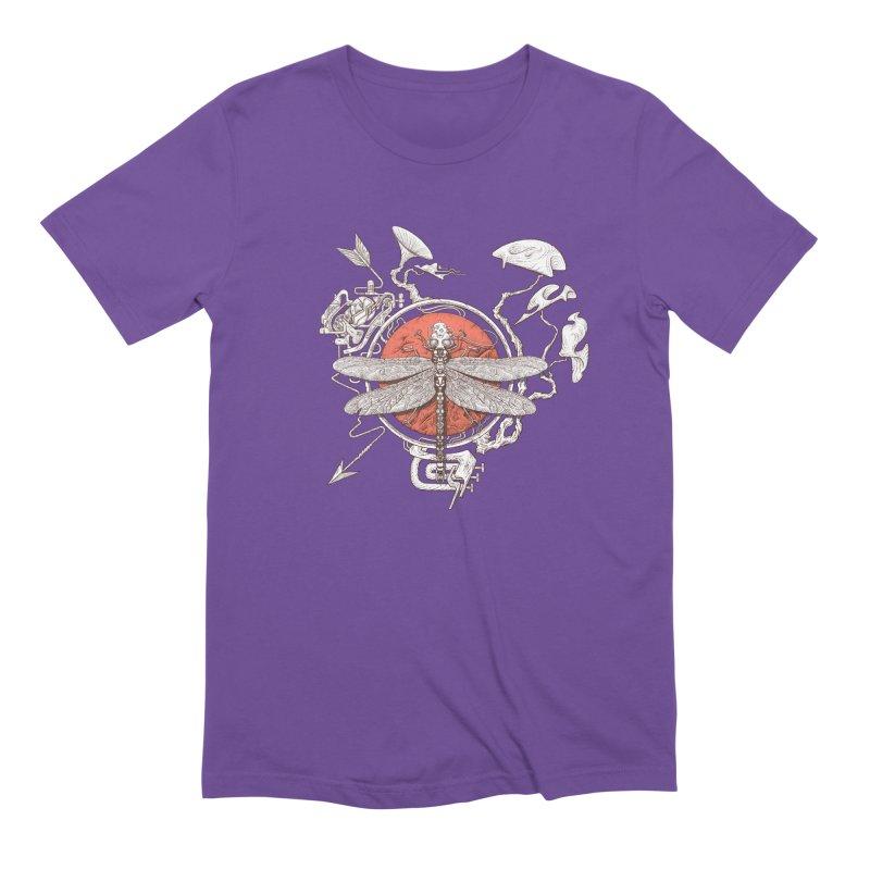 dragonfly dream Men's Extra Soft T-Shirt by makapa's Artist Shop