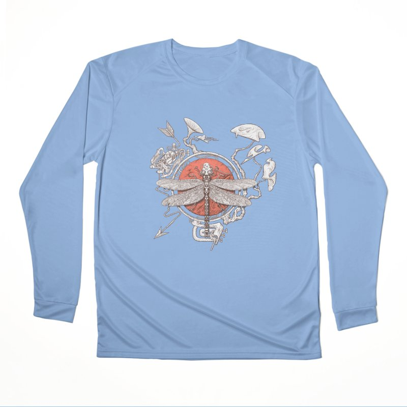 dragonfly dream Women's Performance Unisex Longsleeve T-Shirt by makapa's Artist Shop