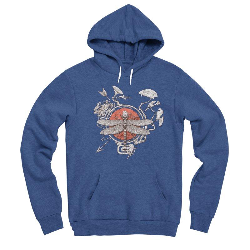 dragonfly dream Women's Sponge Fleece Pullover Hoody by makapa's Artist Shop
