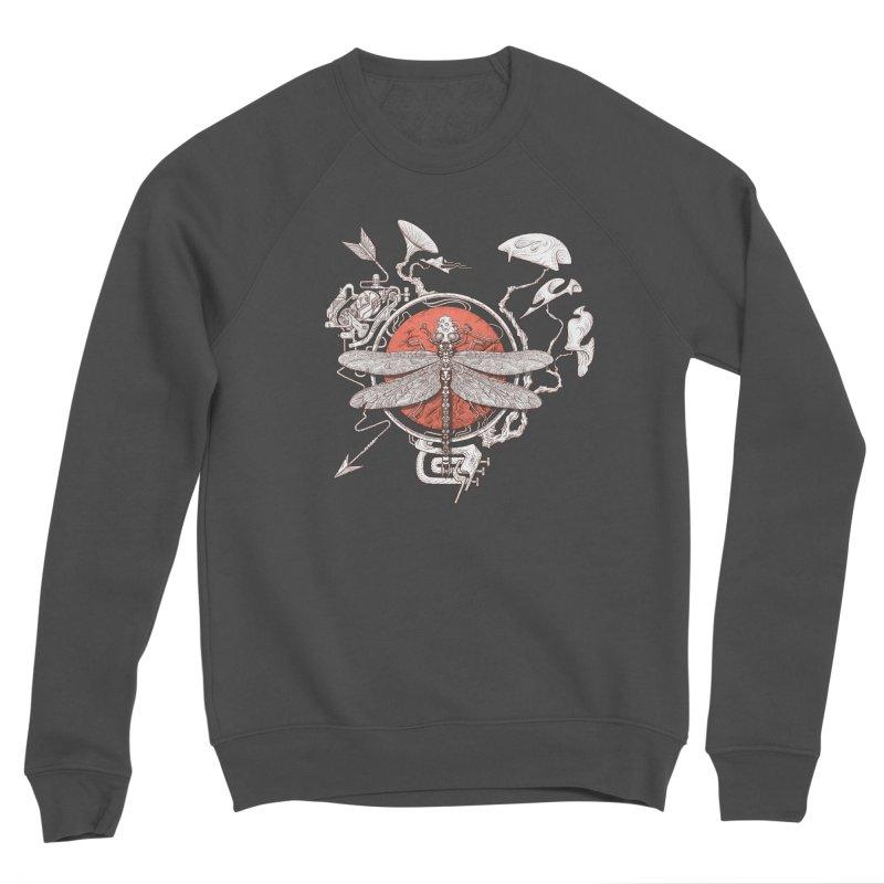 dragonfly dream Men's Sponge Fleece Sweatshirt by makapa's Artist Shop
