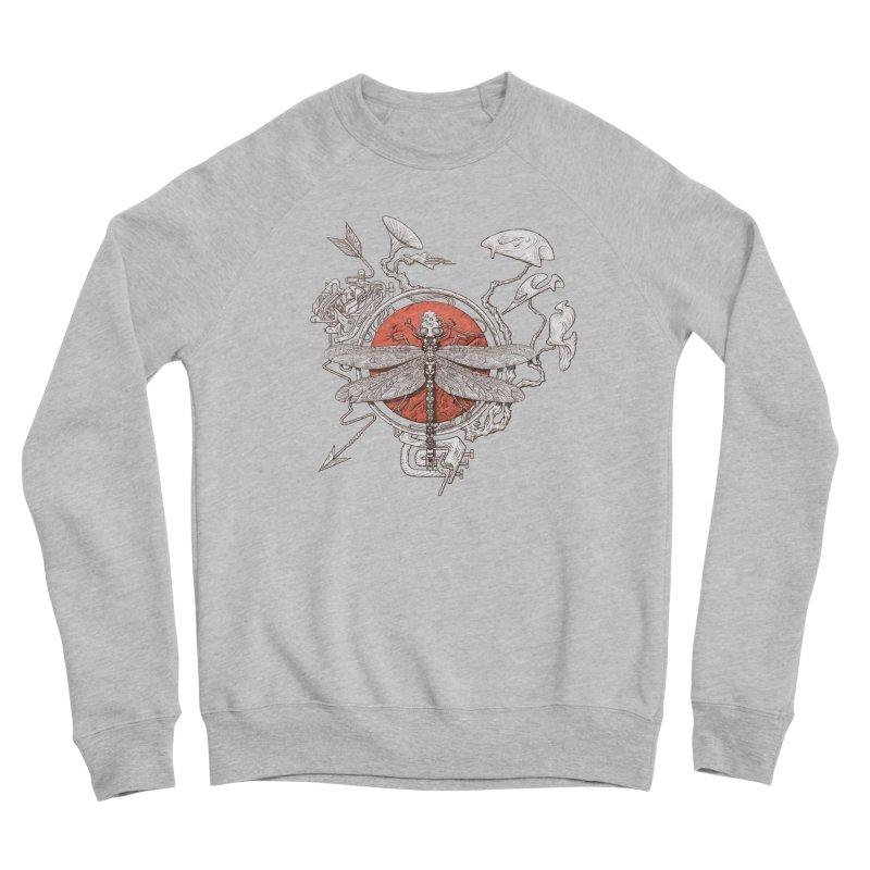 dragonfly dream Women's Sponge Fleece Sweatshirt by makapa's Artist Shop