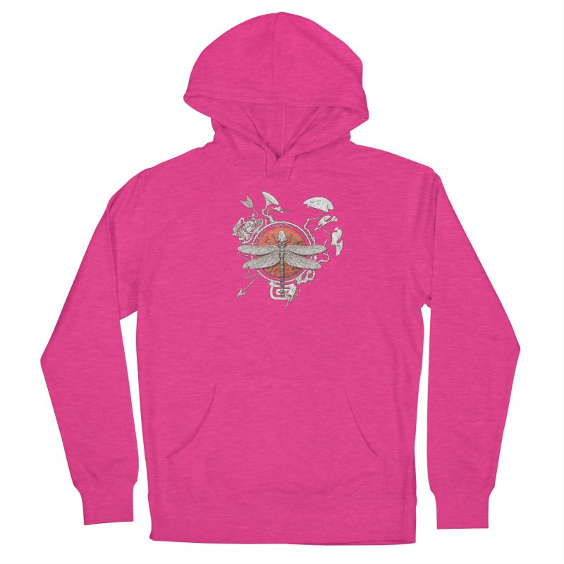 dragonfly dream Men's Pullover Hoody by makapa's Artist Shop