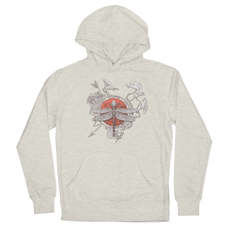 dragonfly dream Women's French Terry Pullover Hoody by makapa's Artist Shop