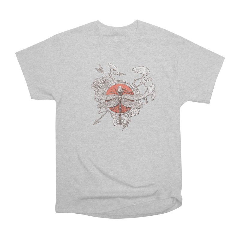 dragonfly dream Men's Heavyweight T-Shirt by makapa's Artist Shop