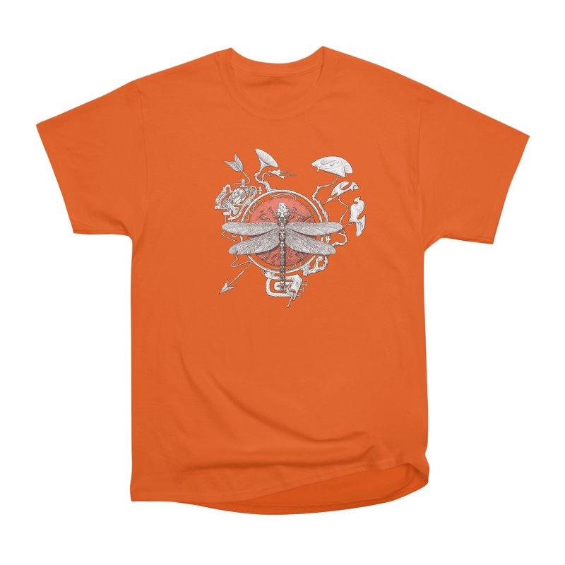 dragonfly dream Women's Heavyweight Unisex T-Shirt by makapa's Artist Shop