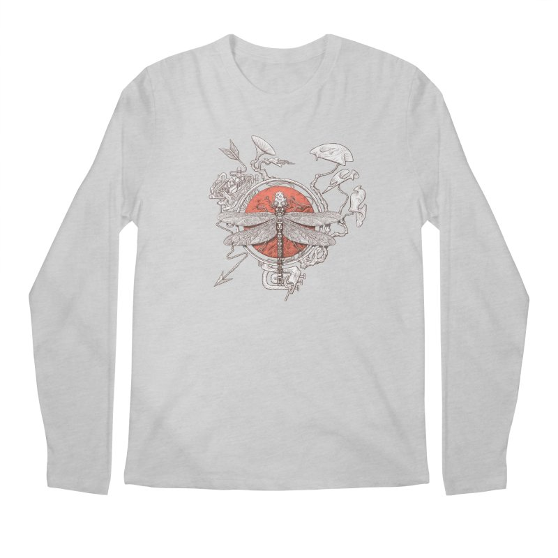 dragonfly dream Men's Longsleeve T-Shirt by makapa's Artist Shop