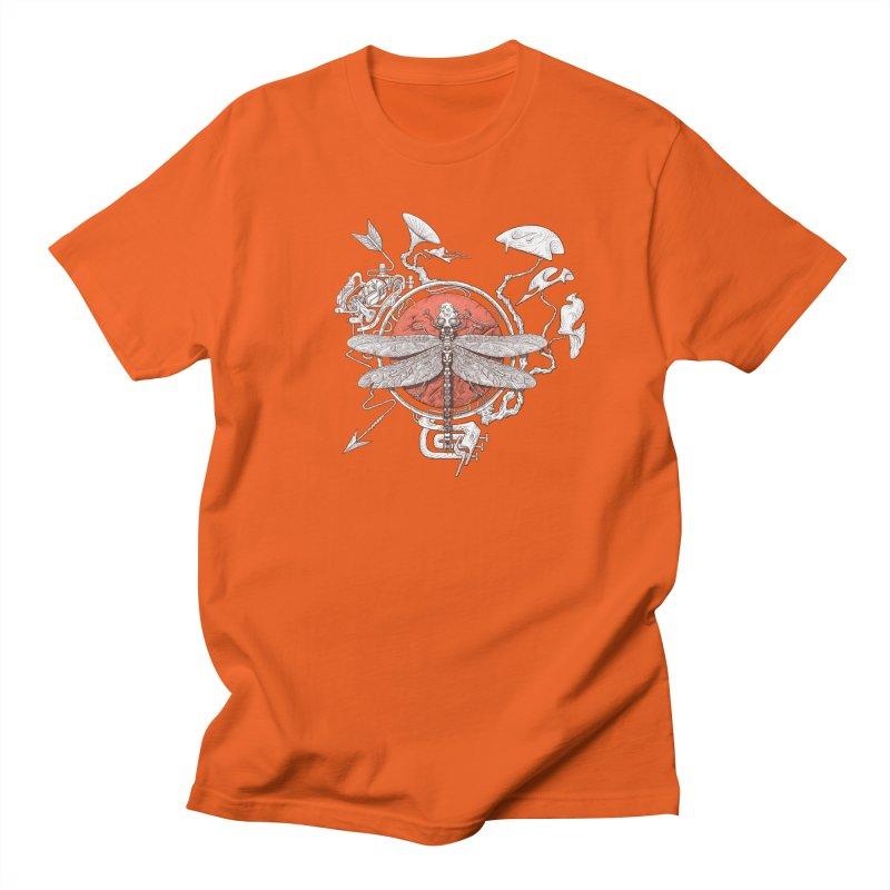 dragonfly dream Men's T-Shirt by makapa's Artist Shop