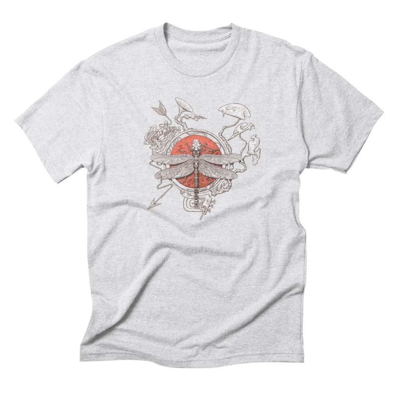 dragonfly dream Men's Triblend T-Shirt by makapa's Artist Shop