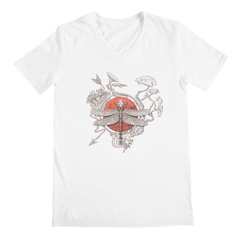 dragonfly dream Men's V-Neck by makapa's Artist Shop